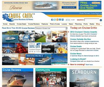Thumbshot of Cruisecritic.com