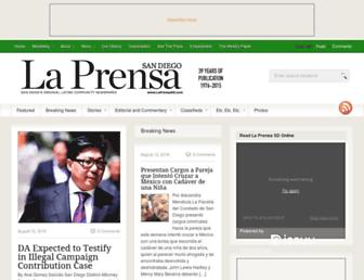 laprensa-sandiego.org screenshot