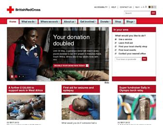 Thumbshot of Redcross.org.uk