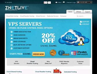 znetlive.com screenshot