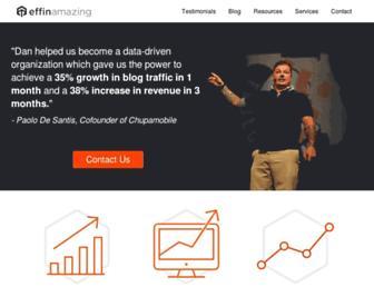 effinamazing.com screenshot
