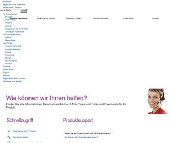 download.p4c.philips.com screenshot