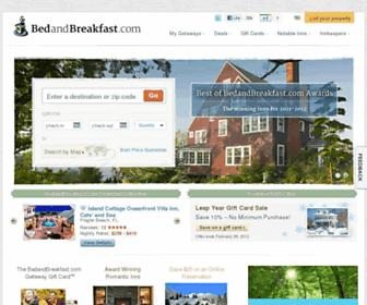 Thumbshot of Bedandbreakfast.com