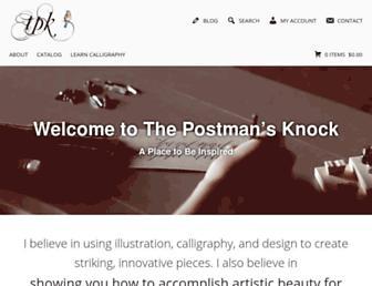 thepostmansknock.com screenshot