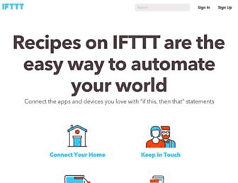 Thumbshot of Ifttt.com