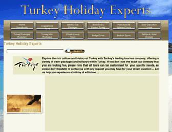 turkeyholidayexperts.com screenshot
