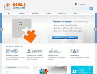 reneelab.com screenshot