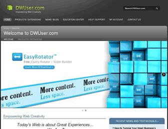 dwuser.com screenshot