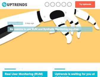 blog.uptrends.com screenshot