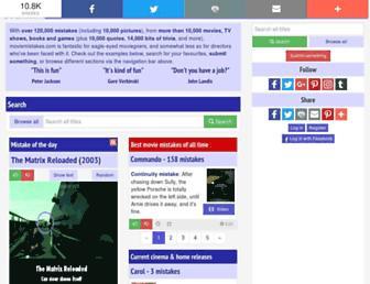 Thumbshot of Moviemistakes.com