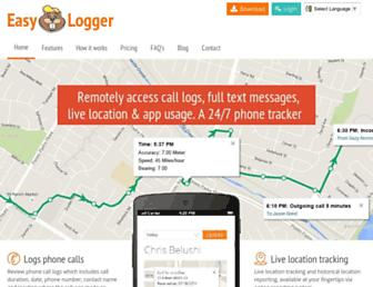 logger.mobi screenshot