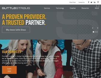 suttle-straus.com screenshot