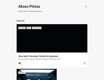 aksespintas.blogspot.com screenshot