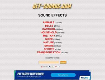 get-sounds.com screenshot