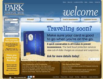 parknationalbank.com screenshot