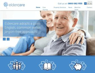 eldercaregroup.co.uk screenshot