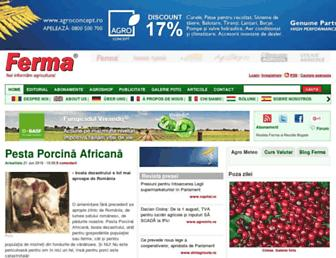 revista-ferma.ro screenshot