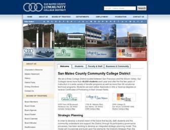 Thumbshot of Smccd.edu