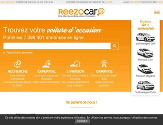 reezocar.com screenshot
