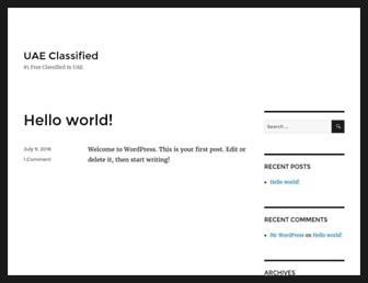 Thumbshot of Uaeclassified.net