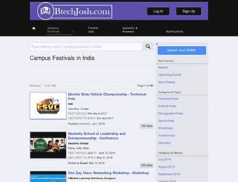 btechjosh.com screenshot