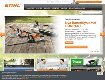 Thumbshot of Stihl.se