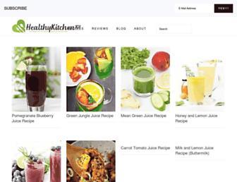 healthykitchen101.com screenshot