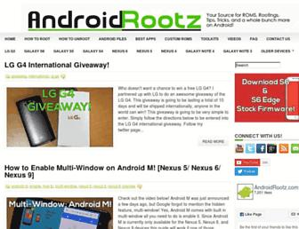 Thumbshot of Androidrootz.com