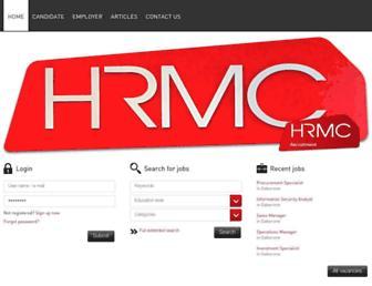 hrmc.co.bw screenshot