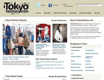 Thumbshot of Tokyofashion.com