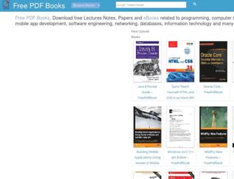 freepdf-books.com screenshot