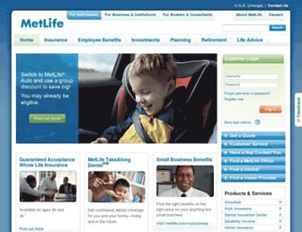 metlife.com screenshot