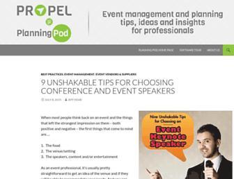 blog.planningpod.com screenshot