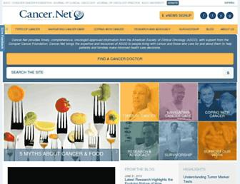 Thumbshot of Cancer.net