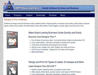 camdevelopment.com screenshot