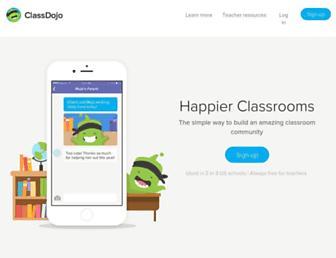 classdojo.com screenshot