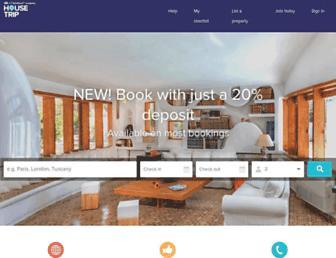 housetrip.com screenshot