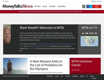 Thumbshot of Moneytalksnews.com