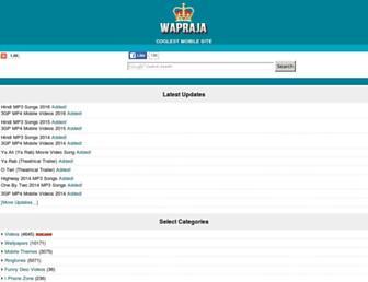 wapraja.net screenshot