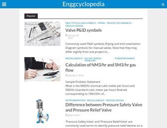 enggcyclopedia.com screenshot