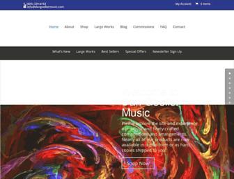 dangoellermusic.com screenshot