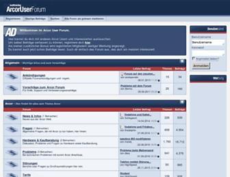 Thumbshot of Arcor-user-forum.de
