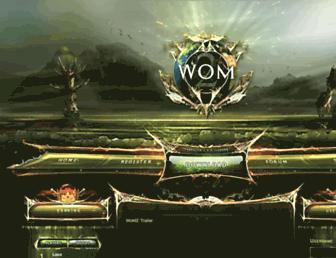 global.wom2.org screenshot