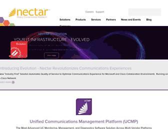 nectarcorp.com screenshot