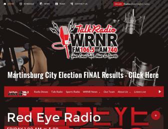 talkradiowrnr.com screenshot