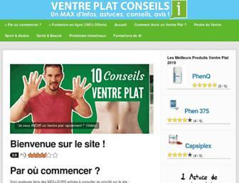 ventreplatconseils.com screenshot