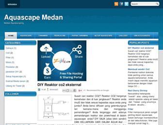 aquascape-medan.blogspot.com screenshot