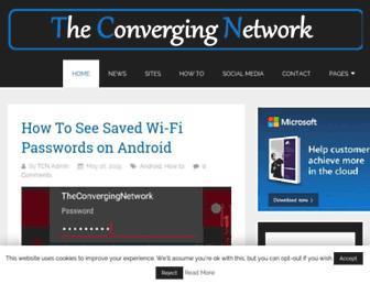 theconvergingnetwork.com screenshot