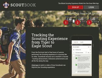 Thumbshot of Scoutbook.com
