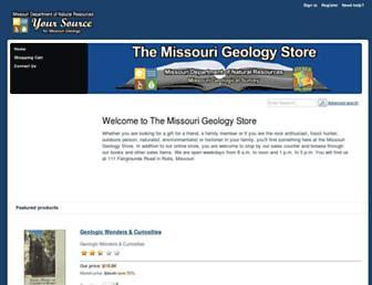 missourigeologystore.com screenshot